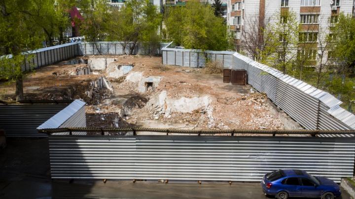 На месте уничтоженного дома-коммуны в центре Новосибирска может появиться высотка