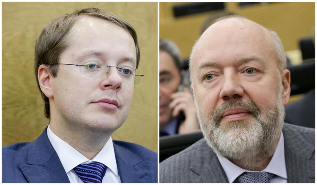 Лев Ковпак и Павел Крашенинников