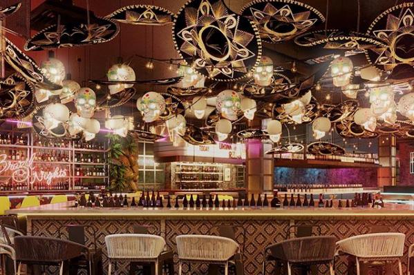 Так может выглядеть один из баров в новом заведении