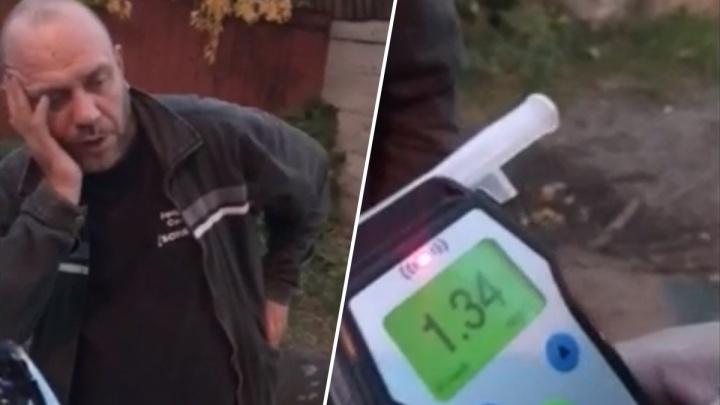 Задержание пьяного таксиста, взрыв на улице Малыгина и дебошир на парковке: дорожное видео недели