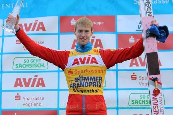 Евгений Климов получил кубок чемпиона