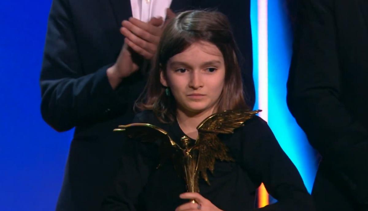 Юная актриса тоже получила престижную премию