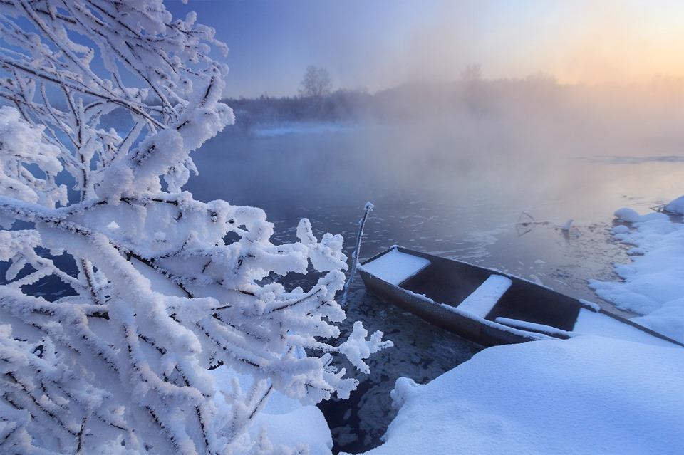 Зимние пейзажи всегда прекрасны