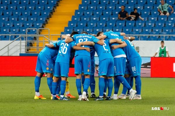 Команда продолжит сезон на ростовском стадионе