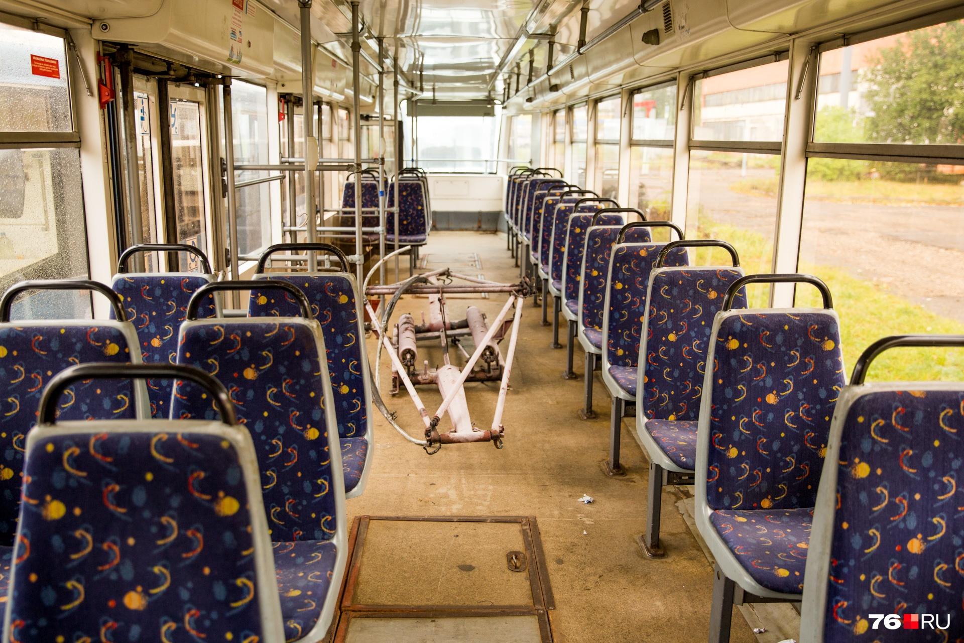 Обкатку в Ярославле трамваи ещё не проходили, но в «ЯрГорЭлектроТрансе» говорят, что в Москве встречаются рельсы более «убитые», чем у нас
