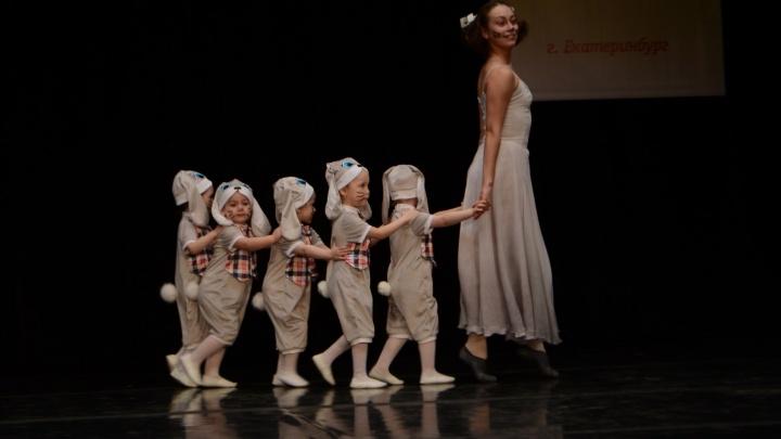 """Трёхлетние """"Зайчата"""" из Екатеринбурга выиграли приз на танцевальном фестивале"""