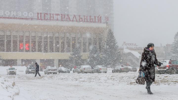 Принесет морозы! В Самарской области ожидают метель