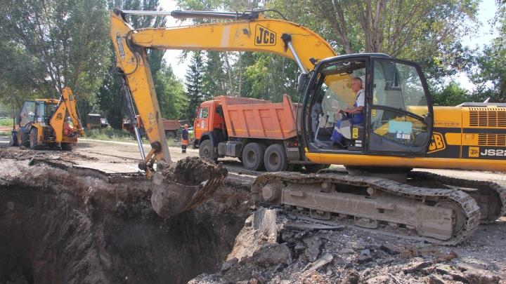В Самаре ликвидировали затор, из-за которого затопило Ракитовское шоссе