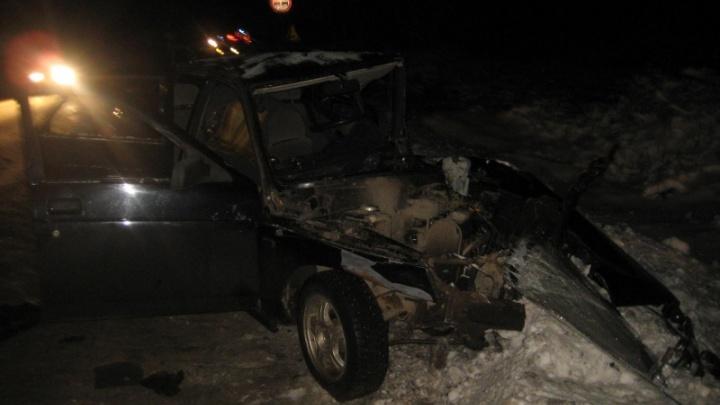 Пьяный водитель спровоцировал ДТП на трассе в Котласском районе