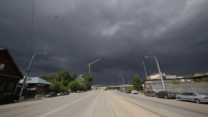 Ждём грозы и град: в Челябинской области резко ухудшится погода