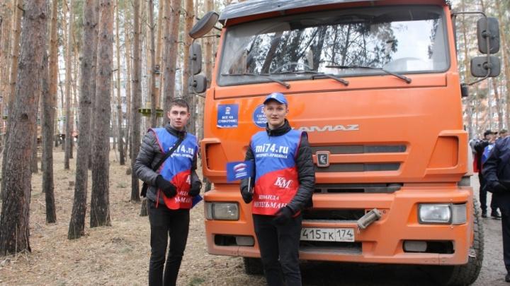 Мусор вывозили КАМАЗами: более 300 горожан очистили парк «Северо-западный» от грязи