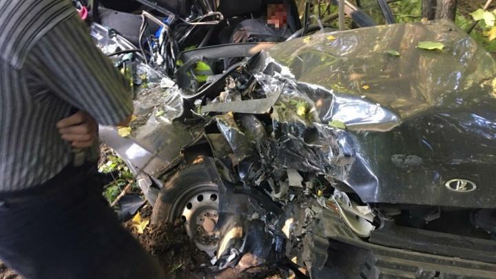 Стала известна личность водителя, погибшего в жутком ДТП на трассе Уфа — Янаул