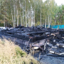 В Кетовском районе во время пожара погибла пенсионерка