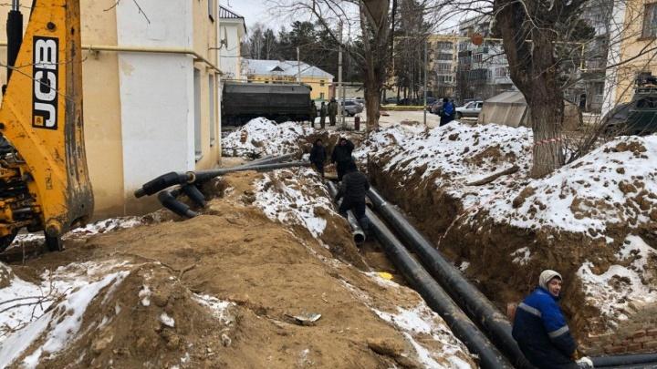 Чиновники отчитались о решении проблем с отоплением в военном городке на Южном Урале