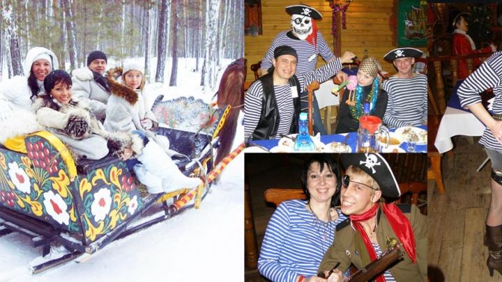 Зимний отдых — все включено: сибиряки зажгут на пиратском корабле и лихо прокатятся на санях