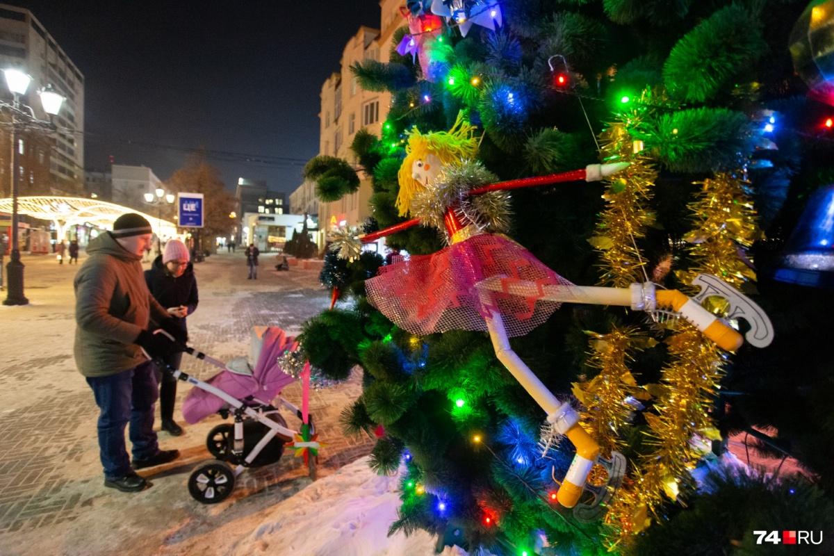 Центр Челябинска уже готов встречать праздник
