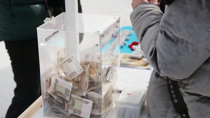 «Оторвал урну и убежал»: новосибирец вынес из ветклиники пожертвования