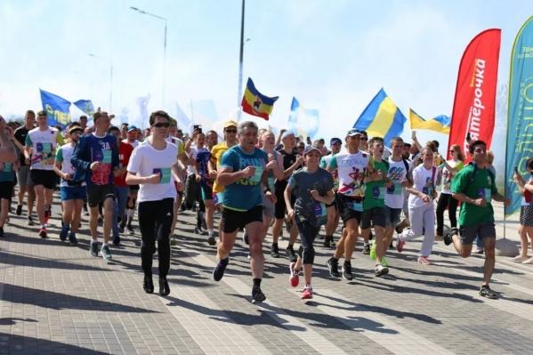 Дистанцию в 40 километров преодолели порядка 70 спортсменов