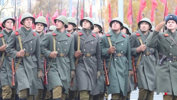 Во время парада Памяти на площади Куйбышева выступят Василий Лановой и артисты Большого театра