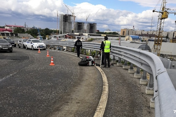35-летний мужчина купил спортивный мотоцикл незадолго до трагедии
