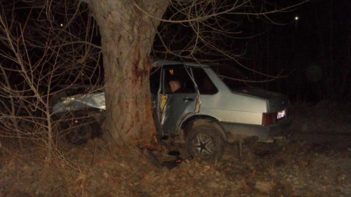 Водитель погиб мгновенно: в Ярославской области легковушка протаранила дерево