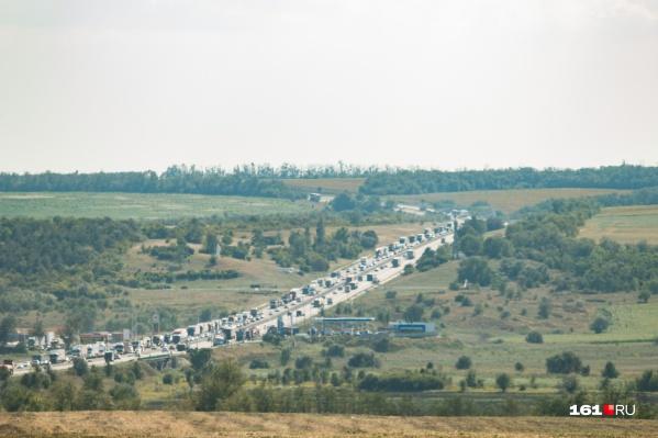 Серьезная авария произошла на федеральной трассе в Воронежской области
