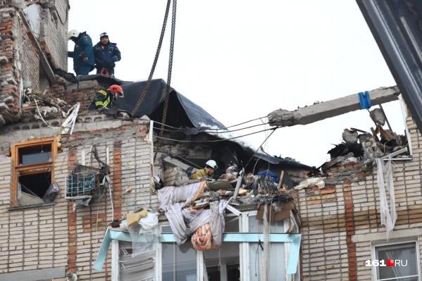 Обследование дома на Хабарова, 16 еще не закончилось