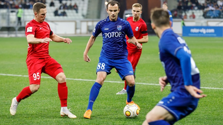 Дома и «Волгоград Арена» помогает: «Ротор» сыграл вничью с «Мордовией» 1–1