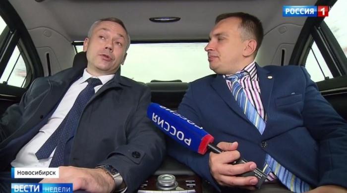 Андрей Травников проехал в машине не пристёгнутым ремнём безопасности