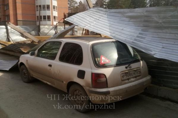 Неприятный сюрприз ждет владельца машины в Железногорске