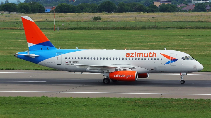 Из Ярославля запускают рейсы в Краснодар на самолёте Sukhoi Superjet 100