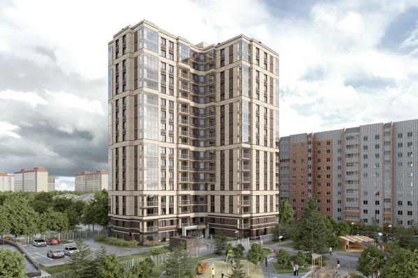Ну что за дом такой: новый жилой комплекс «Грибоедов» с парком удивил новосибирцев