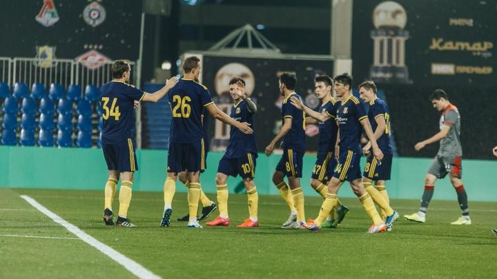 ФК «Ростов» сыграл вничью со шведским АИКом