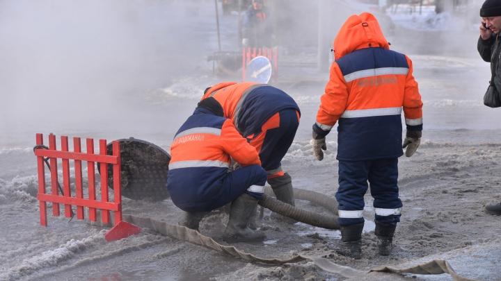 В среду в Екатеринбурге закроют часть улицы Шефской, чтобы заменить старые трубы