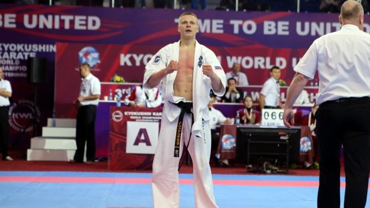 20-летний екатеринбургский каратист вышел в финал чемпионата мира по кёкусинкай