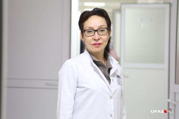 Нэлли Янтурина посвятила себя лечению болезней крови