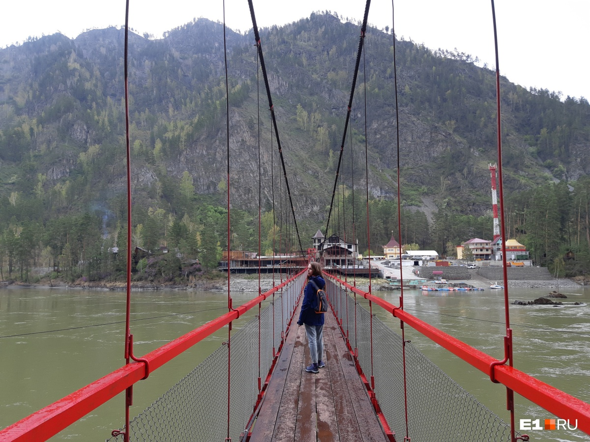 Мост к водопаду