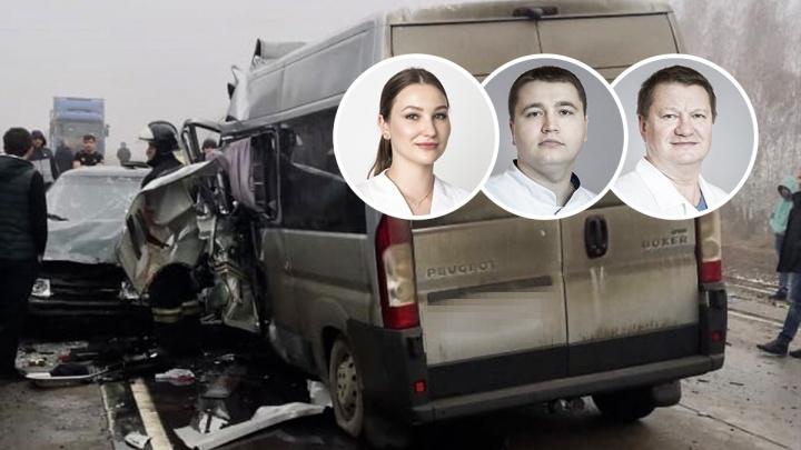 В страшном ДТП под Борисоглебском разбилась семья Соловьевых: врачи из Волгограда ехали на отдых