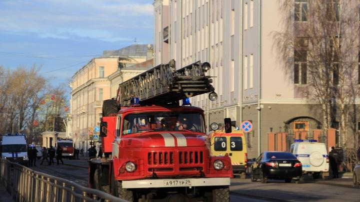 Взрыв в здании ФСБ в Архангельске: что известно на данный момент