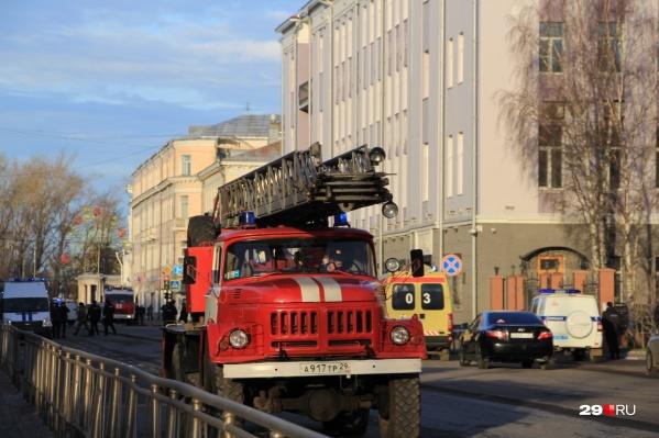 Взрыв прогремел около 9 часов утра в самом здании ФСБ