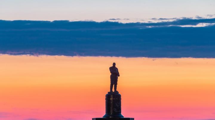 Фото дня. Триколор в небе по-нижегородски