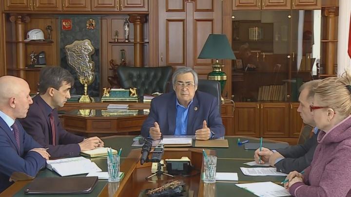 «Я сделал все, что мог»: губернатор Кемеровской области Аман Тулеев подал в отставку