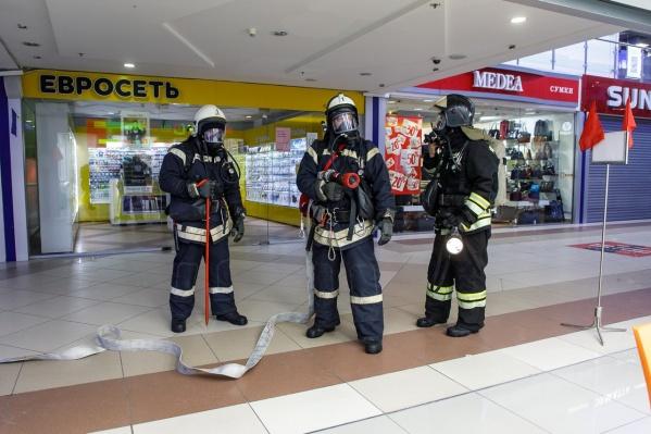 МЧС проводит пожарно-тактические учения