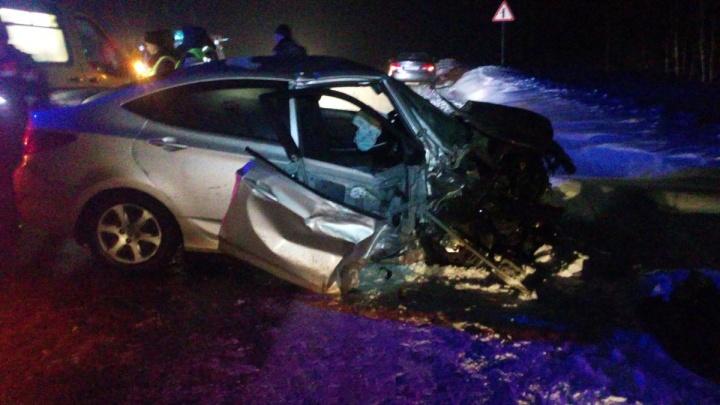 «Машины разбросало по дороге»: в ДТП под Ярославлем пострадали четыре человека