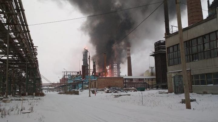 В Минздраве Башкирии рассказали о состоянии пострадавших при пожаре на заводе вСтерлитамаке