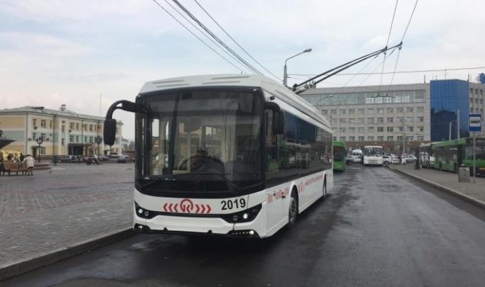С нового года троллейбус 8-го маршрута пустят до автовокзала на «Взлетке»