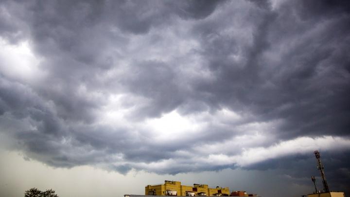 Экстренное предупреждение от МЧС: на Ярославль идёт гроза и сильный ветер
