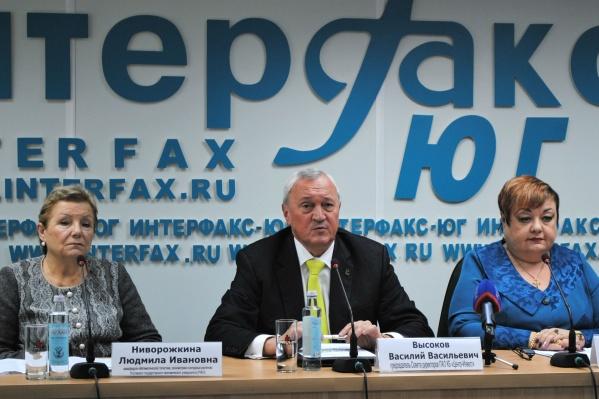 Накануне открытиястатистического конгресса ростовские эксперты встретились с журналистами