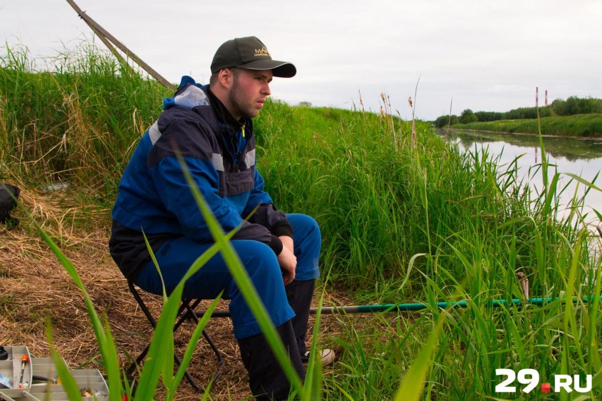 Евгений начал рыбачить с 11 лет