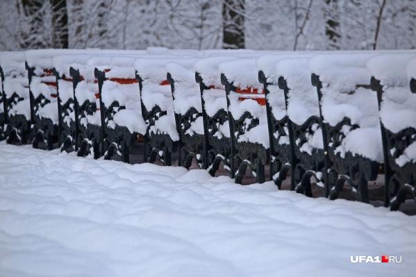 Вот таким снежным покрывалом накроются улочки к выходным